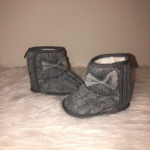 Other - Baby Girl Gray Boots